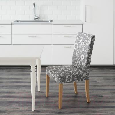 Стул Ikea Хенриксдаль 991.622.39 (серый/белый)