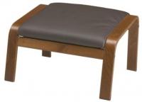 Банкетка Ikea Поэнг 998.291.14 (коричневый/темно-коричневый) -