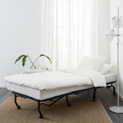 Кресло-кровать Ikea Ликселе Левос 998.400.84 (белый)