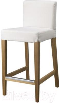 Стул Ikea Хенриксдаль 998.502.71 (дуб/белый)
