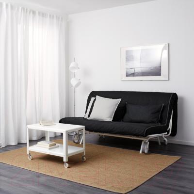 Диван-кровать Ikea Икеа/Пс Левос 998.743.90 (черный) - в интерьере
