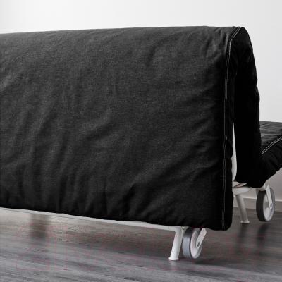 Диван-кровать Ikea Икеа/Пс Левос 998.743.90 (черный) - вид сзади