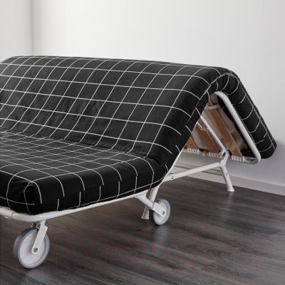 Диван-кровать Ikea Икеа/Пс Мурбо 998.744.70 (Руте черный) - в процессе раскладки