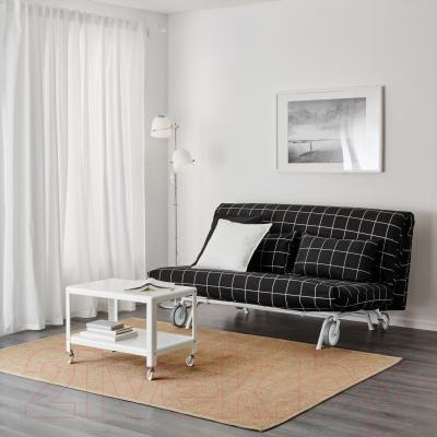 Диван-кровать Ikea Икеа/Пс Ховет 998.744.89 (Руте черный) - в интерьере