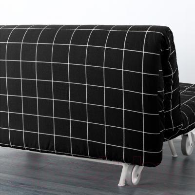 Диван-кровать Ikea Икеа/Пс Ховет 998.744.89 (Руте черный) - вид сзади