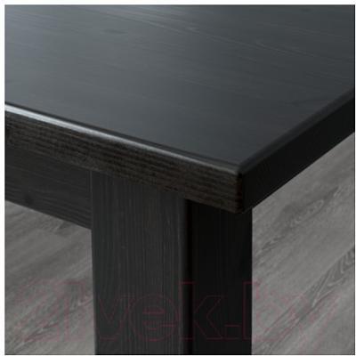 Обеденная группа Ikea Стурнэс / Каустби 998.856.66 (коричнево-черный)