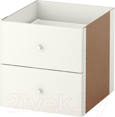 Элемент системы хранения Ikea Каллакс 003.146.42 (белый глянцевый)