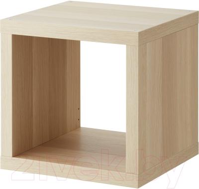 Полка Ikea Каллакс 003.290.16 (беленый дуб)