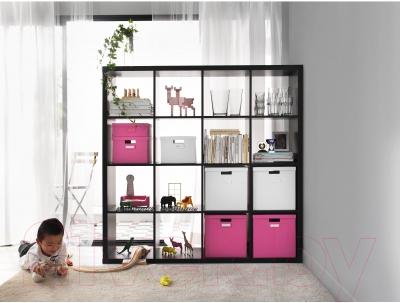 Стеллаж Ikea Каллакс 102.758.62 (черно-коричневый)