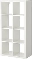 Стеллаж Ikea Каллакс 103.057.41 (белый глянцевый) -