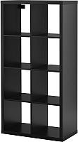 Стеллаж Ikea Каллакс 202.758.85 (черно-коричневый) -