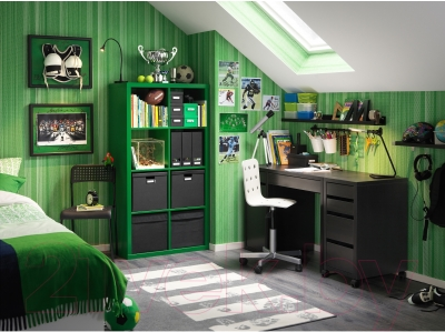 Стеллаж Ikea Каллакс 203.002.86 (зеленый)