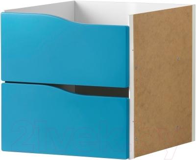 Элемент системы хранения Ikea Каллакс 203.015.73 (бирюзовый)