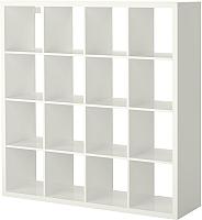 Стеллаж Ikea Каллакс 203.057.45 (белый глянцевый) -