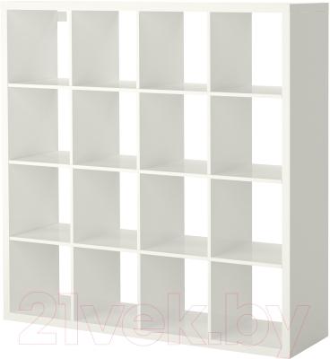 Стеллаж Ikea Каллакс 203.057.45 (белый глянцевый)