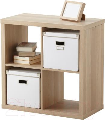Стеллаж Ikea Каллакс 203.147.35 (беленый дуб)