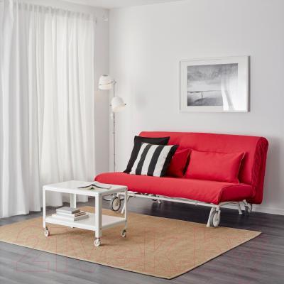 Диван-кровать Ikea Икеа/Пс Мурбо 298.744.59 (красный) - в интерьере