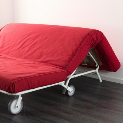 Диван-кровать Ikea Икеа/Пс Мурбо 298.744.59 (красный) - в процессе раскладки