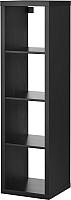 Стеллаж Ikea Каллакс 402.758.46 (черно-коричневый) -