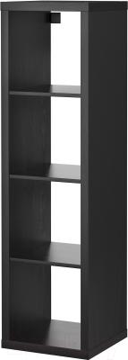 Стеллаж Ikea Каллакс 402.758.46 (черно-коричневый)