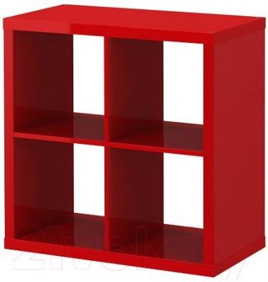 Стеллаж Ikea Каллакс 402.788.40 (красный глянцевый)