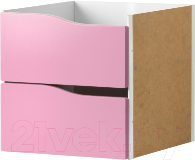 Элемент системы хранения Ikea Каллакс 403.065.84 (розовый)