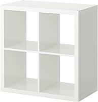Стеллаж Ikea Каллакс 503.057.39 (белый глянцевый) -