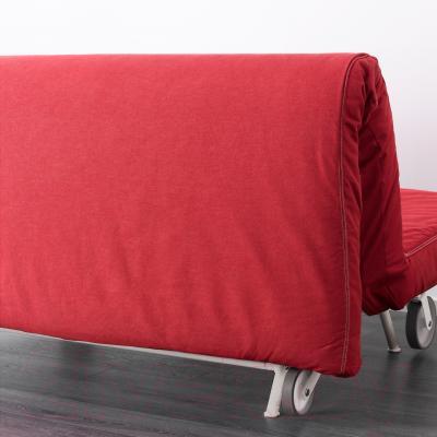 Диван-кровать Ikea Икеа/Пс Ховет 298.744.78 (красный) - вид сзади