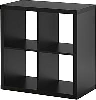 Стеллаж Ikea Каллакс 602.758.12 (черно-коричневый) -