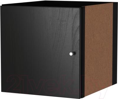 Элемент системы хранения Ikea Каллакс 602.781.70 (черно-коричневый)
