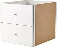 Элемент системы хранения Ikea Каллакс 702.866.45 (белый) -
