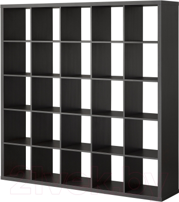 Стеллаж Ikea Каллакс 703.015.42 (черно-коричневый)
