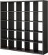Стеллаж Ikea Каллакс 703.015.42 (черно-коричневый) -