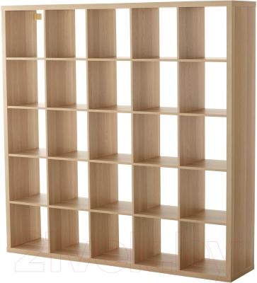 Стеллаж Ikea Каллакс 703.147.33 (беленый дуб)