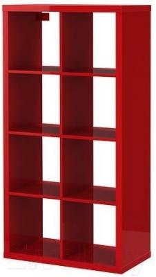 Стеллаж Ikea Каллакс 802.788.38 (красный глянцевый)