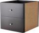 Элемент системы хранения Ikea Каллакс 902.866.49 (черно-коричневый) -