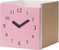 Элемент системы хранения Ikea Каллакс 903.072.27 (розовый/часы декоративные) -
