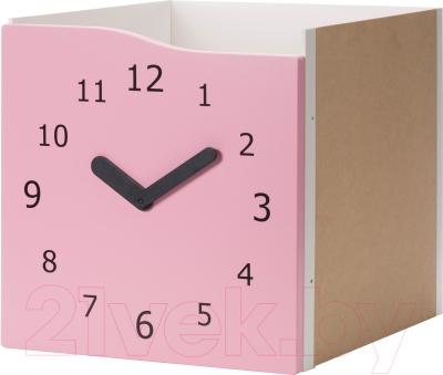 Элемент системы хранения Ikea Каллакс 903.072.27 (розовый/часы декоративные)