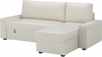 Угловой диван-кровать Ikea Виласунд 199.072.00 (Виттарид светло-бежевый) -