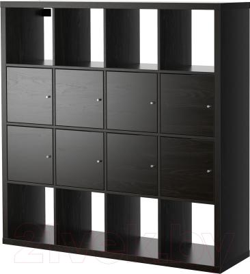 Стеллаж Ikea Каллакс 390.174.72 (черно-коричневый)