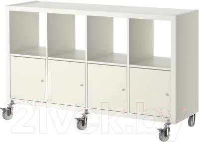 Стеллаж Ikea Каллакс 790.304.81 (белый)
