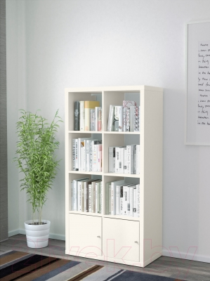 Стеллаж Ikea Каллакс 990.171.86 (белый)