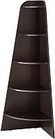 Стеллаж Ikea Варби 002.965.15 (черно-коричневый) -