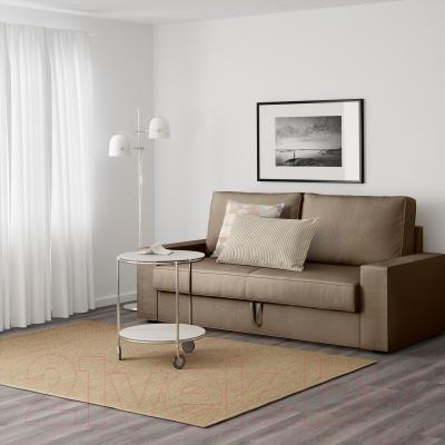 Диван-кровать Ikea Виласунд 299.072.33 (Дансбу бежевый) - в интерьере