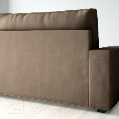 Диван-кровать Ikea Виласунд 299.072.33 (Дансбу бежевый) - вид сзади