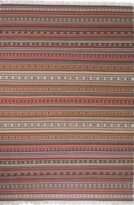 Ковер Ikea Катруп 101.637.89 (красный/разноцветный)