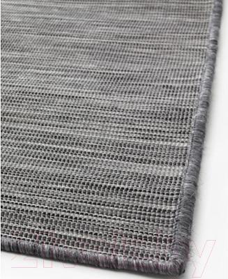Циновка Ikea Ходде 202.987.97 (серый/черный)