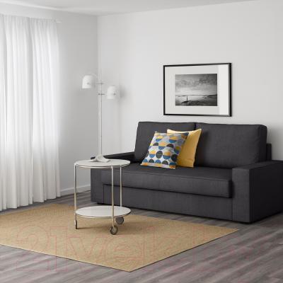 Диван-кровать Ikea Виласунд 199.072.38 (Дансбу темно-серый) - в интерьере