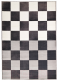Ковер Ikea Вроби 302.836.77 (серый/белый) -