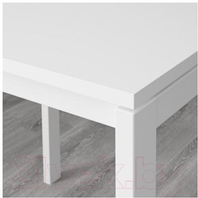 Обеденный стол Ikea Мельторп 390.117.81 (белый)